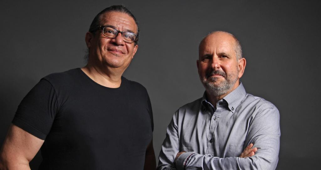 Rubén Riera y David de los Reyes en Centro Cultural BOD