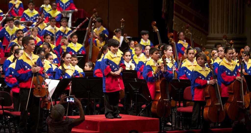 La Sinfónica Nacional Infantil tomó La Scala