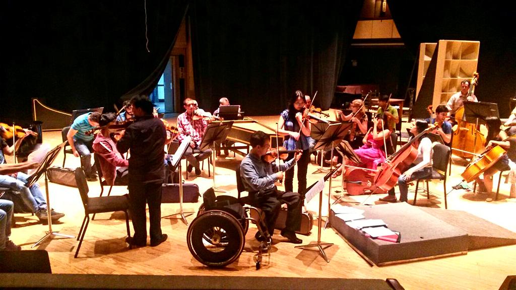 In-Hong Cha impresionado  con el nivel de los músicos venezolanos