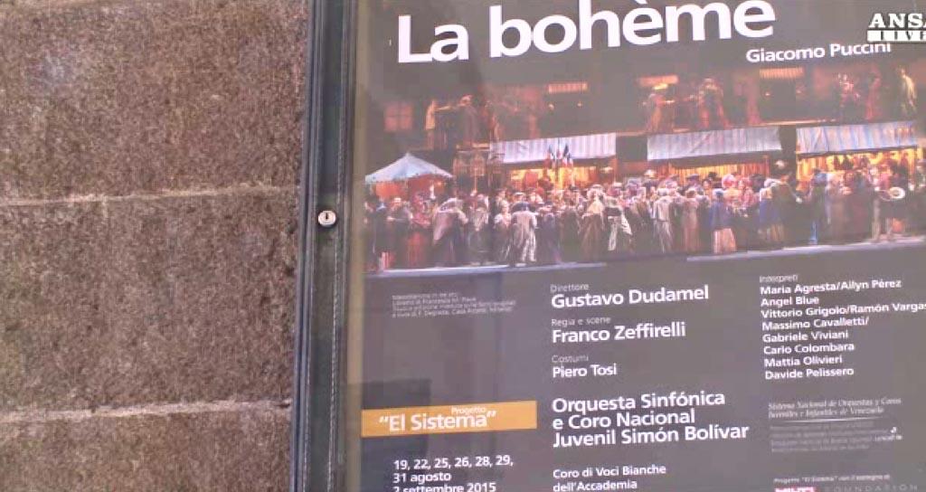 Gustavo Dudamel invita al público milanés a disfrutar de los conciertos venezolanos