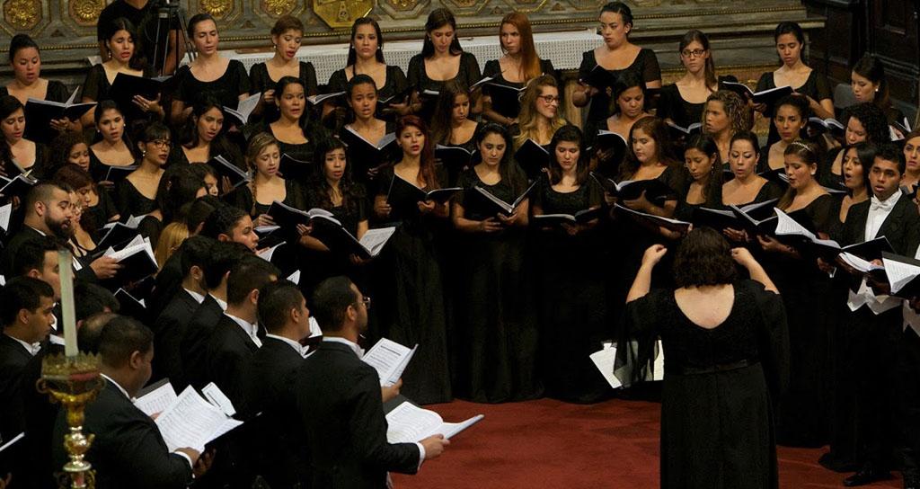 La Coral Nacional Juvenil Simón Bolívar cantó en el Duomo de Milán