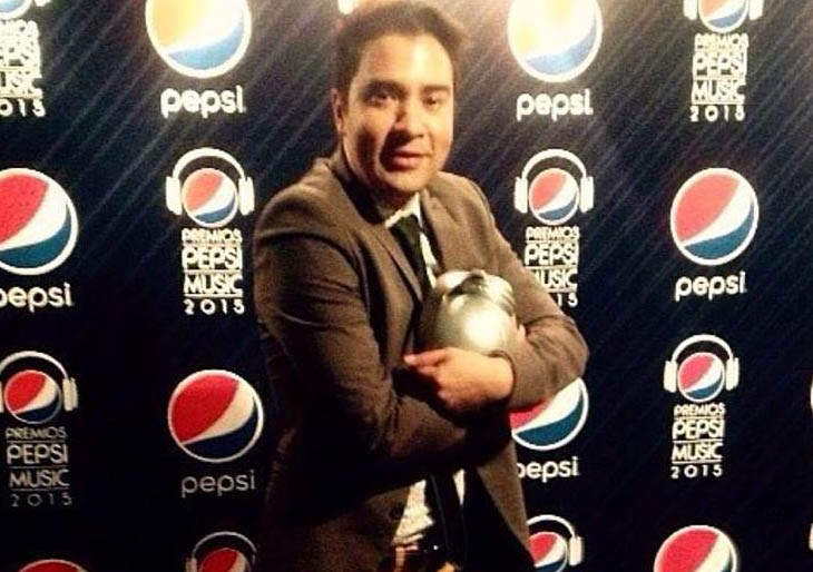 Edward Ramírez es el Artista del Año de los Premios Pepsi Music 2015