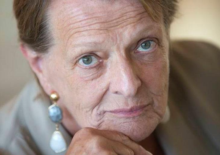 Helga Schmidt se ha quedado en Italia