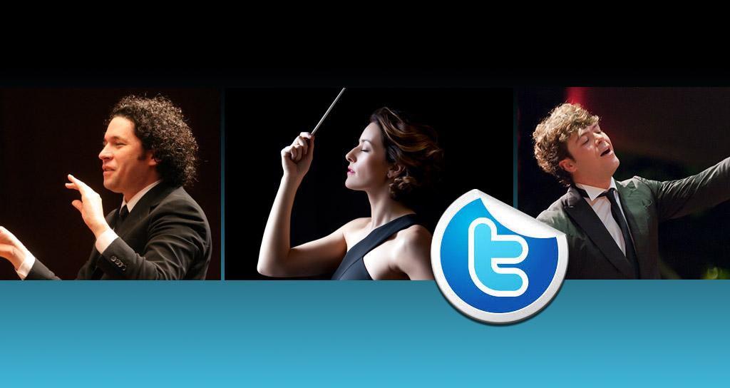 7 directores de orquesta en Twitter: dirigiendo 140 carácteres