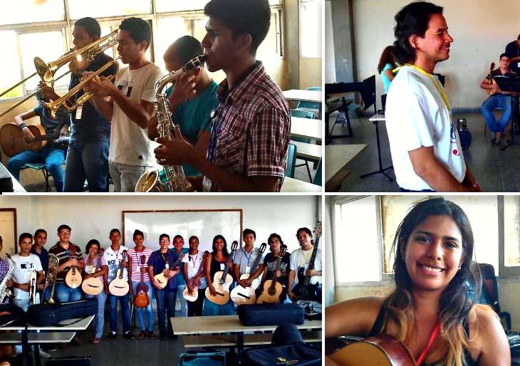 En Punta de Piedras la música se expande para formar a jóvenes líderes