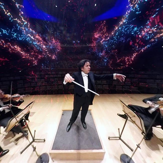 Filarmónica de LA suma música y realidad virtual en VAN Beethoven