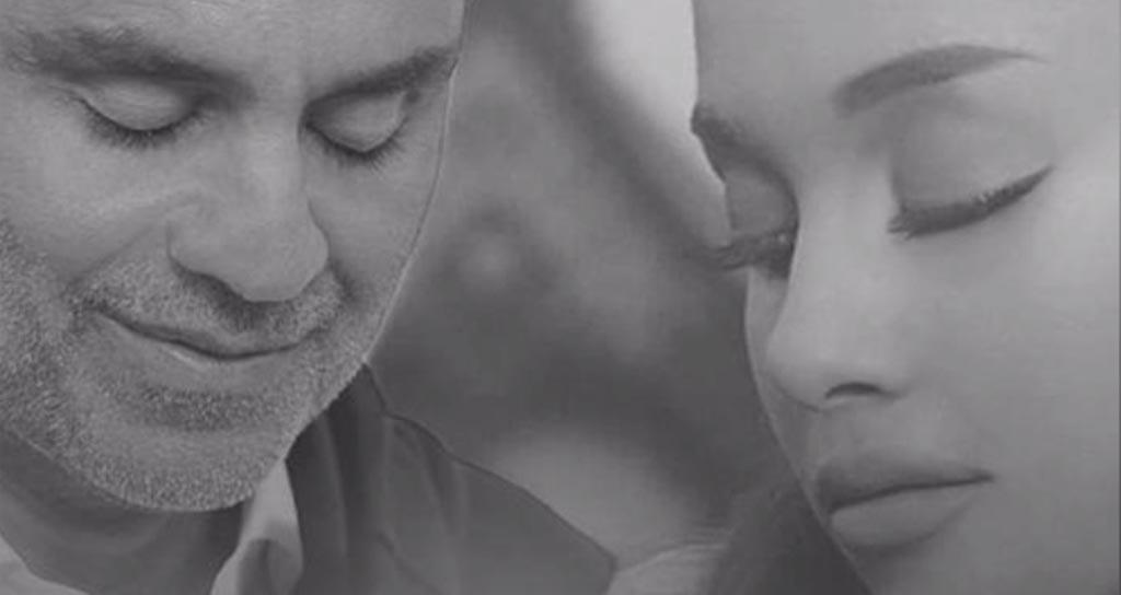 Andrea Bocelli y Ariana Grande unen sus voces