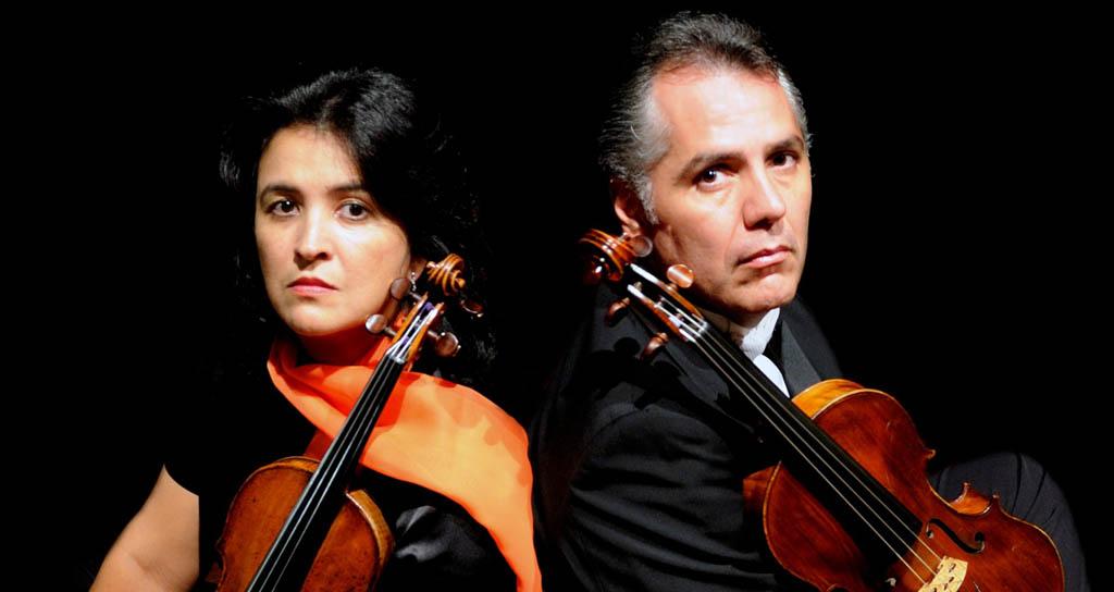 Ana Beatriz Manzanilla y Pedro Saglimbeni