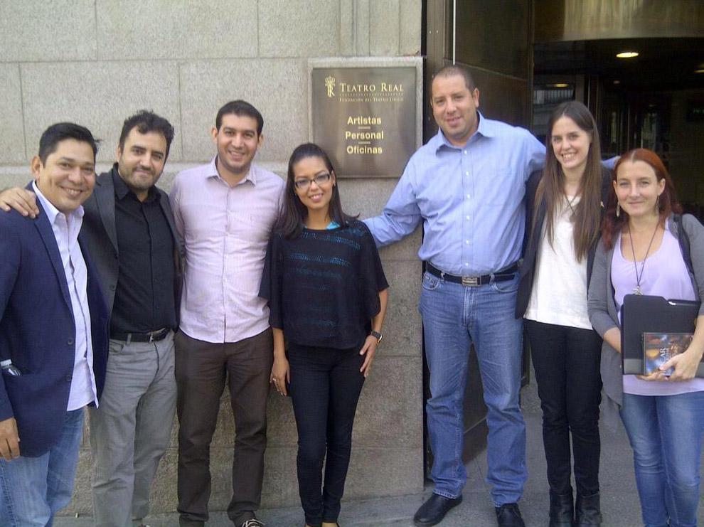 #Unidos @ASPM_esp #Madrid y @elsistema para inicio del #ProgramaEE #AulaSocial @Teatro_Real #UNGA @FundaMusicalR @UN