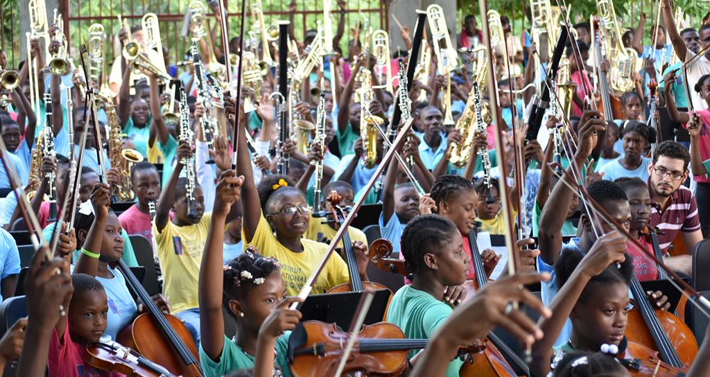 El Sistema Haití cuenta ya con su primera orquesta y coro juvenil e infantil