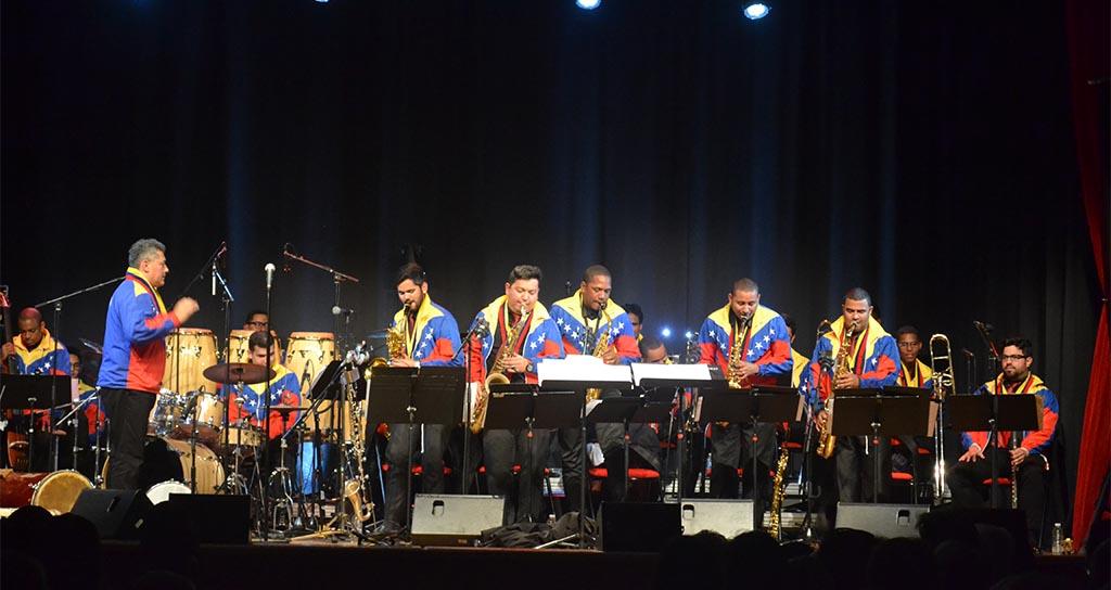 Simón Bolívar Big Band Jazz lleva el modelo educativo de El Sistema a Francia