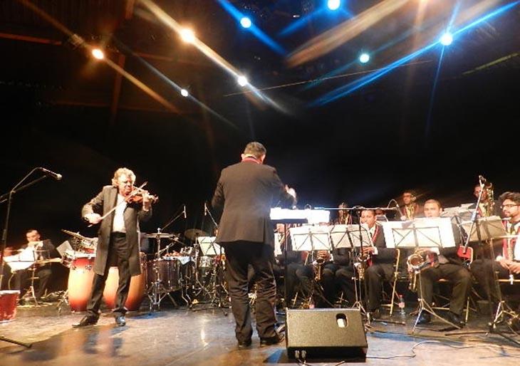 La Simón Bolívar Big Band Jazz impresiona a los grandes maestros del jazz