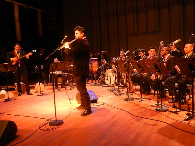 Simón Bolívar Big Band Jazz en el Conservatorio en París