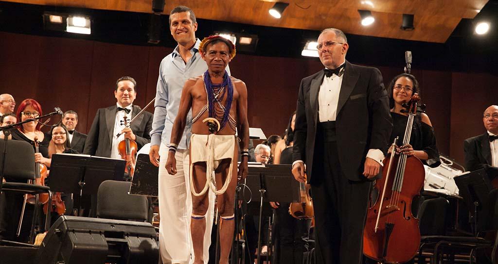 Sinfonía indígena otro éxito del Festival Sinfónico