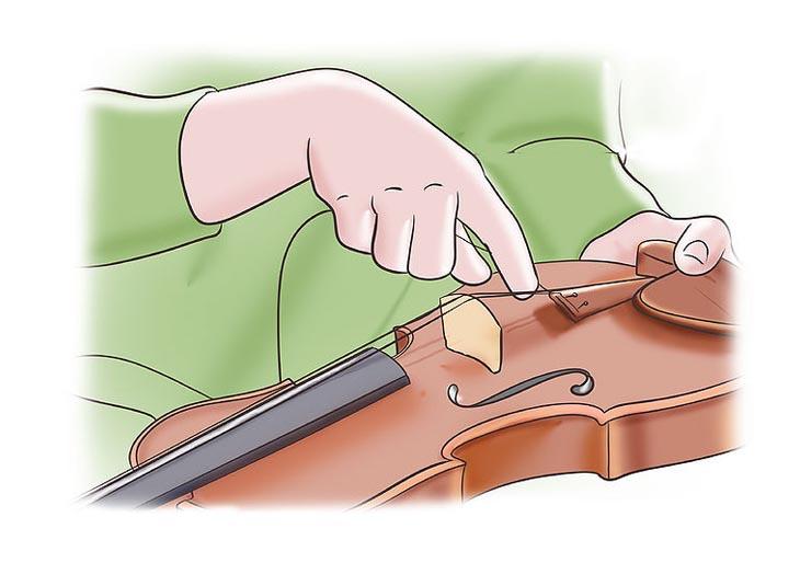 Cómo colocar cuerdas a un violín