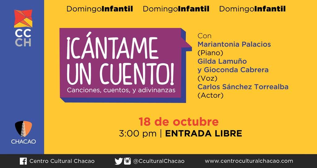 ¡Cántame un cuento! entusiasmo y amor por lo venezolano en el CCCh