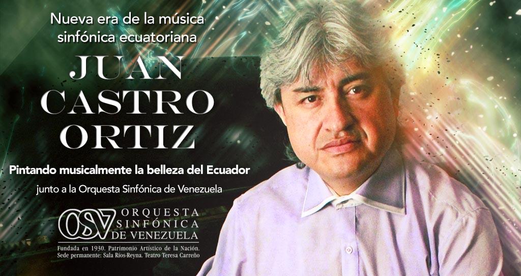 Juan Castro, el pianista ecuatoriano que busca un Grammy con su disco grabado en Venezuela