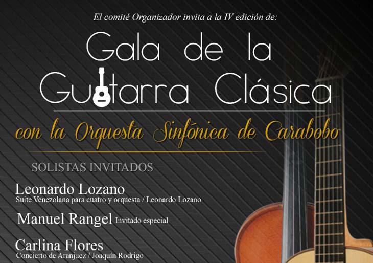 IV Gala de la Guitarra Clásica con la Orquesta Sinfónica de Carabobo