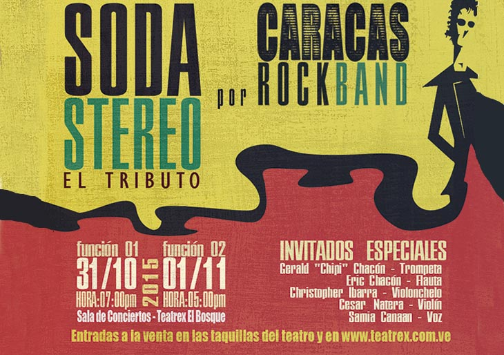 Caracas Rock Band reinventa la música de Soda Stereo