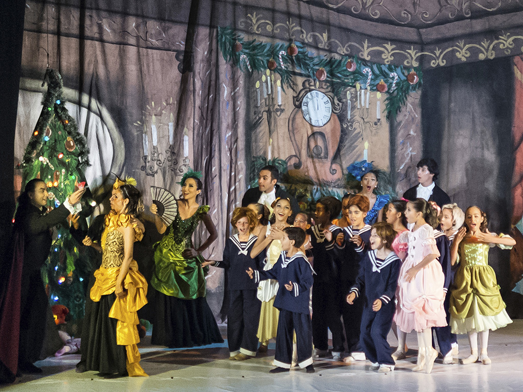 Cascanueces 2013. Ballet de la Mar. Casa de la Cultura Ramón Vásquez Brito. Porlamar. venezuela