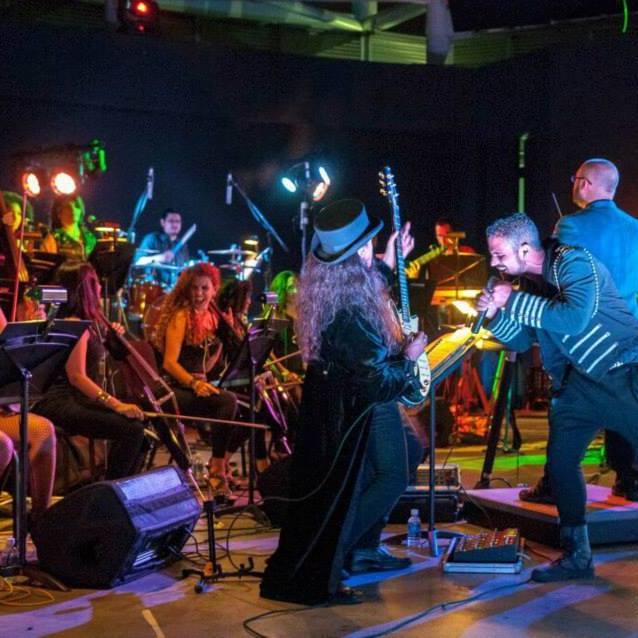 Orquesta de Rock Sinfónico Simón Bolívar en el tributo a Dream Theater