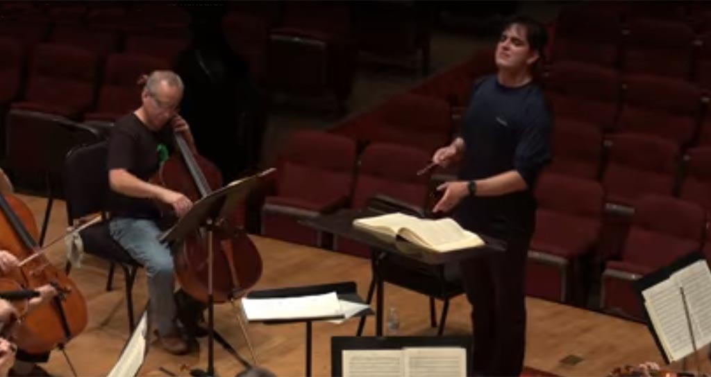 Carlos Izcaray conduce la Orquesta Sinfónica de Alabama en la Novena Sinfonía