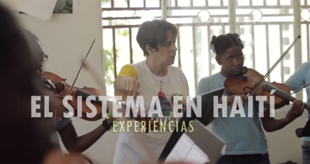 La inspiración de enseñar y aprender en Haití
