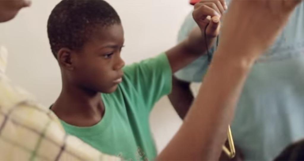 El Sistema transforma desde la familia en Haití