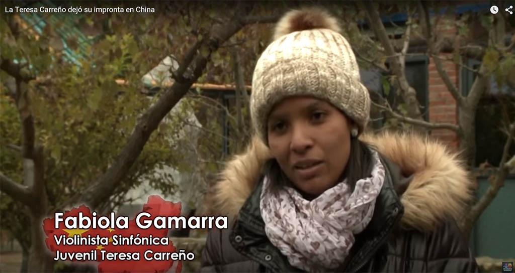 La Teresa Carreño dejó su impronta en China