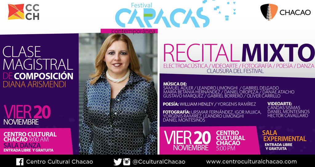 El Festival Caracas Contemporánea se despide