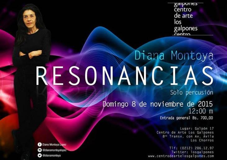 """La percusionista Diana Montoya estrena """"Resolana"""" para solo de percusión de Luis Ernesto Gómez"""