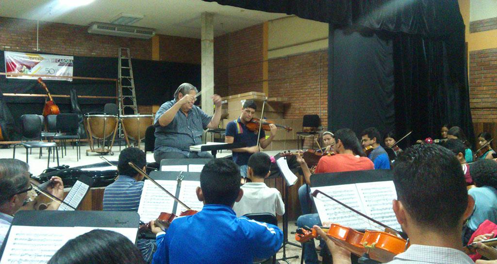 Academia Latinoamericana del Violín de visita en Carora