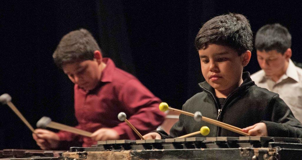 500 jóvenes percusionistas celebran la décima edición del Festival Internacional de Percusión de Los Llanos