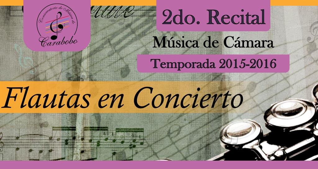 El Conservatorio de Música de Carabobo ofrece 2do recital, de la Temporada 2015-2016