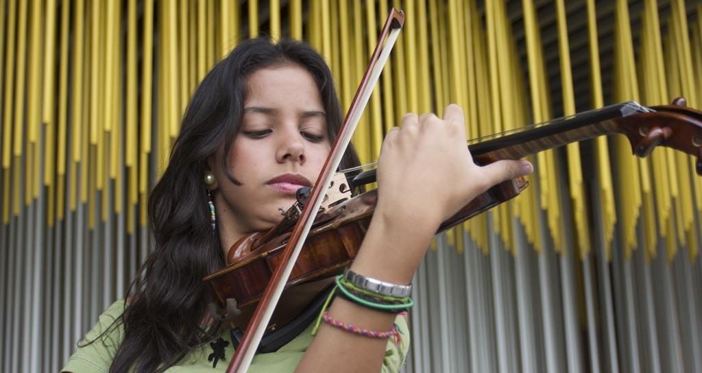El violín académico y popular se encuentran en el Festival Nacional de Violín Lara 2015