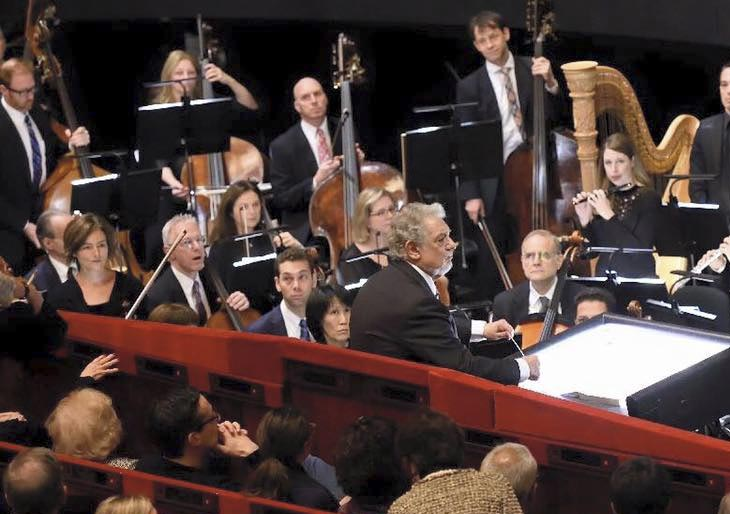 Plácido Domingo interpretó La Marsellesa en honor a Francia
