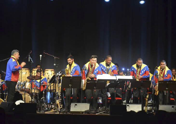 La Simón Bolívar Big Band Jazz y la Orquesta Afrovenezolana Simón Bolívar actuarán en el CNASPM