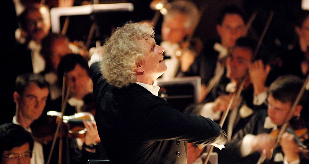 Simon Rattle y la Filarmónica de Berlín salen de gira con Beethoven