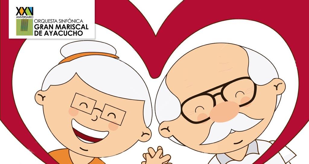 """La Gran Mariscal de Ayacucho presenta: """"Los abuelos son una nota"""""""