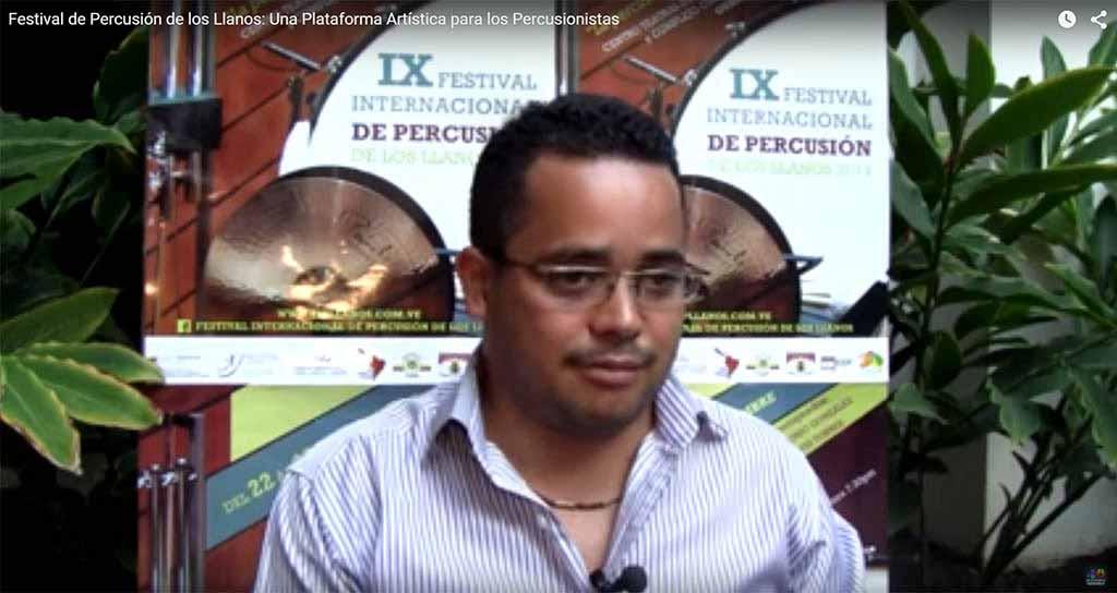 Festival de Percusión de los Llanos: Una Plataforma Artística para los Percusionistas