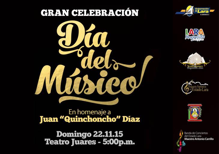 """En el Día Internacional del MúsicoOrden """"Jacinto Lara"""" para músicos de la Orquesta Sinfónica de Lara"""
