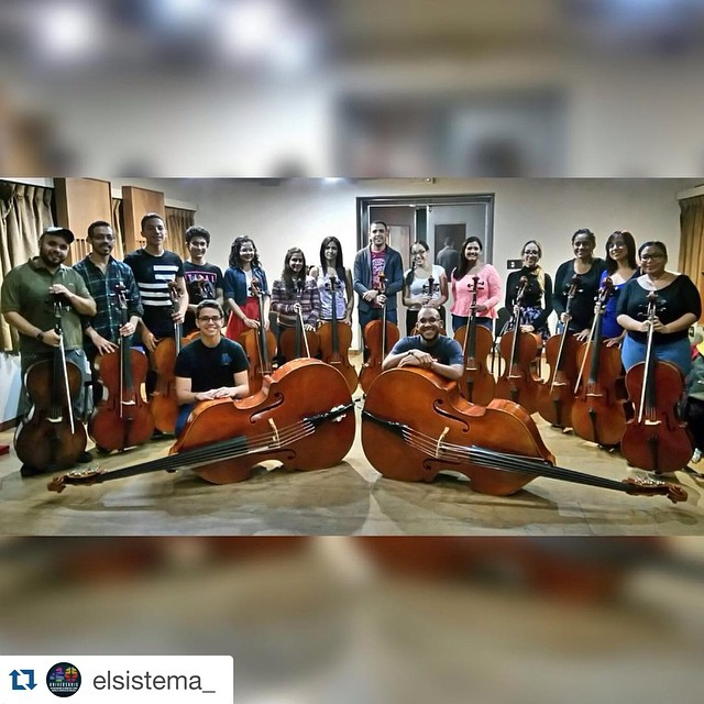 Ensamble de Violoncellos de la Sinfónica Juvenil de Caracas