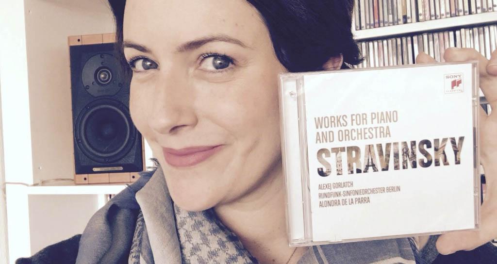 Alondra de la Parra presenta disco con música de Stravinsky