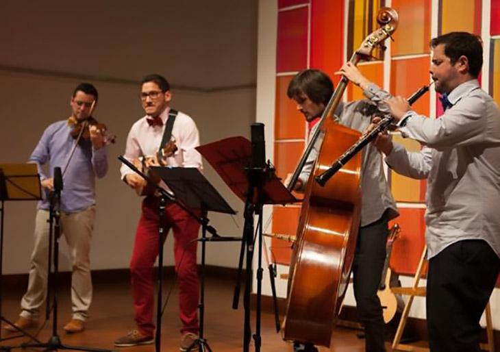 Cuarteto Waraira culmina exitosa e intensa temporada cultural de la Embajada de Venezuela en el Reino Unido en 2015