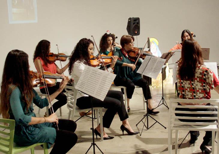El Ensamble La nota clásica hizo un recorrido navideño por Europa, EEUU y Venezuela