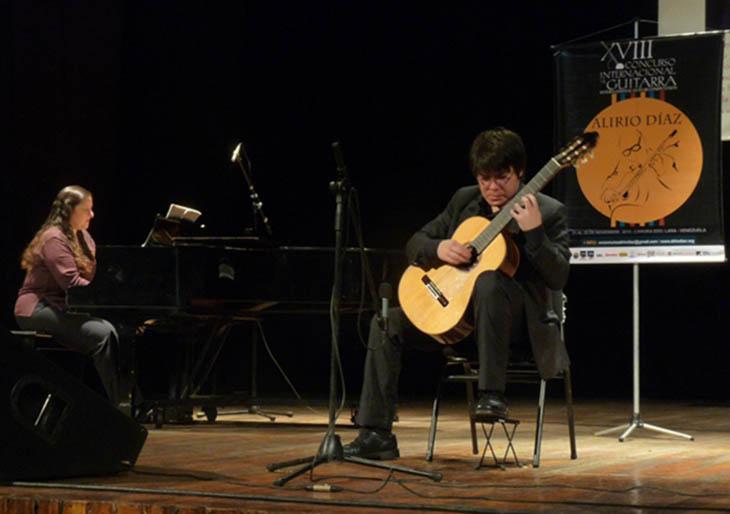 Declarado desierto el primer premio en el XVIII Concurso Internacional de Guitarra Alirio Díaz