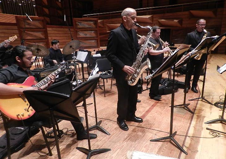 Venezuela Big Band Jazz celebra con la magia del jazz