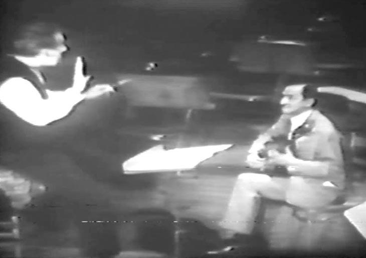 Video | Sergei Celibidache y Alirio Díaz con la Orquesta Sinfónica de Venezuela (1962)