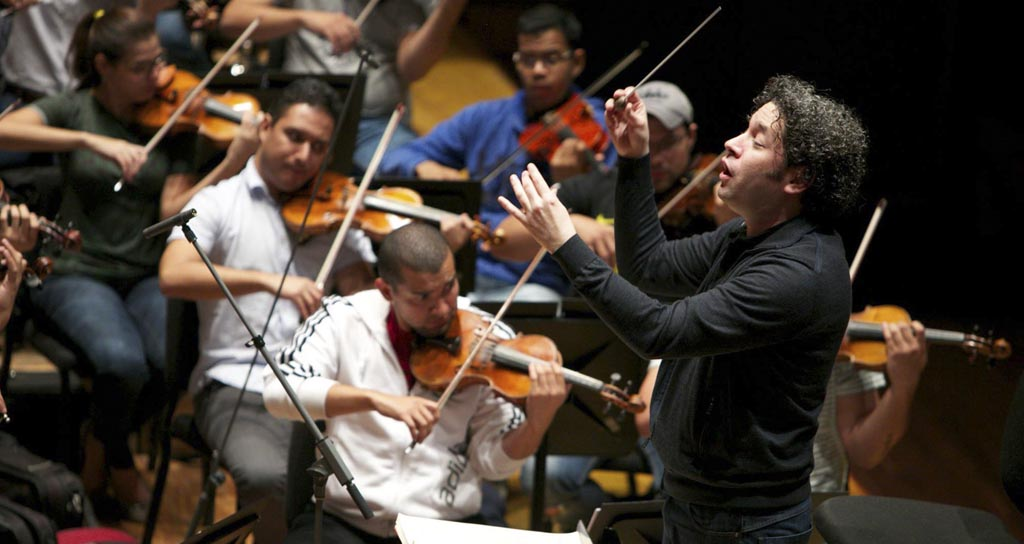 Gustavo Dudamel y la Orquesta Sinfónica Simón Bolívar inician Gira por Europa