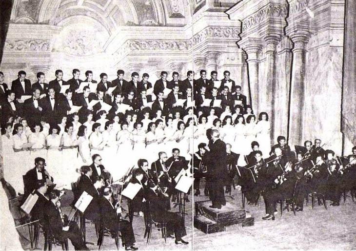 La creación de la Orquesta Sinfónica de Venezuela marcó un hito histórico en la vida musical del país